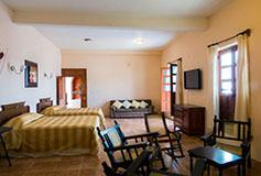 Habitación Estándar Cuádruple del Hotel Posada Doña Lala