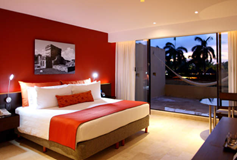 Habitación De Lujo del Hotel Hotel Presidente Intercontinental Cancún Resort