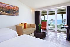 Habitación Deluxe Frente al Mar del Hotel Presidente Intercontinental Cozumel Resort