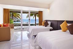 Habitación Deluxe Vista al Mar del Hotel Presidente Intercontinental Cozumel Resort
