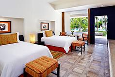 Habitación Vista Piscina del Hotel Presidente Intercontinental Cozumel Resort
