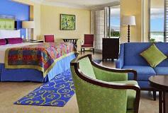Habitación Perla Junior Suite Vista al Campo de Golf del Hotel Hotel Princess Mundo Imperial Riviera Diamante Acapulco