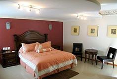 Habitación Junior Suite del Hotel Puebla de Antaño