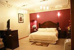 Habitación Master Suite del Hotel Puebla de Antaño