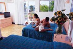 Habitación Standard vista al Jardín del Hotel Qualton Club Ixtapa