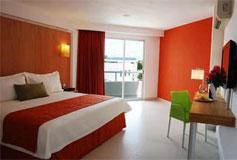 Habitación Estándar del Hotel Ramada Cancún City
