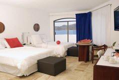 Habitación Estándar Dos Camas Queen del Hotel Hotel Ramada Resort Mazatlán