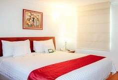 Habitación Suite de Dos Recámaras del Hotel Residence L'Heritage Hipólito Taine by BlueBay
