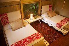 Habitación Safari Suite del Hotel Rodavento Natural