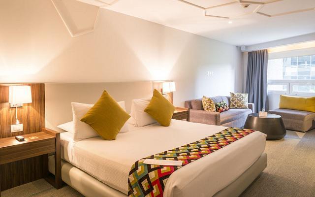 Habitación Ejecutiva del Hotel Hotel Room Mate Valentina