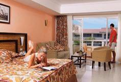 Habitación Jr. Suite Riviera del Hotel Hotel Sandos Playacar Beach Resort Select Club All Inclusive
