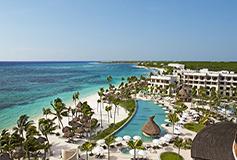 Habitación Preferred Club Junior Suite Ocean View Two Doubles del Hotel Secrets Akumal Riviera Maya