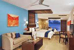 Habitación Junior Suite Ocean Front King del Hotel Secrets Huatulco Resort and Spa
