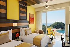 Habitación Preferred Junior Suite Ocean Front Double del Hotel Secrets Huatulco Resort and Spa