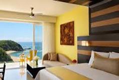 Habitación Preferred Junior Suite Swim Out King del Hotel Secrets Huatulco Resort and Spa