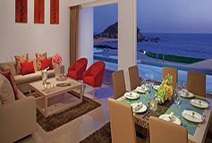 Habitación Preferred Two Level Presidential Suite Swim Out del Hotel Secrets Huatulco Resort and Spa