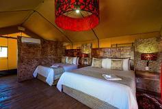 Habitación Harmony Triple del Hotel Serenity Eco Luxury Tented Camp by Xperience Hotels