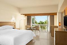 Habitación Habitación de Lujo Vista al Jardín del Hotel Sheraton Buganvilias Beach and Spa Resort Puerto Vallarta