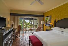 Habitación Deluxe Vista Jardín del Hotel Sheraton Grand Los Cabos Hacienda Del Mar