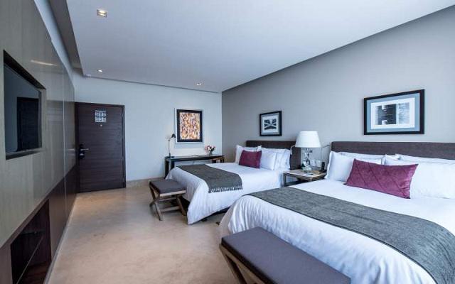 Habitación Junior Suite del Hotel Square Small Luxury Hotel