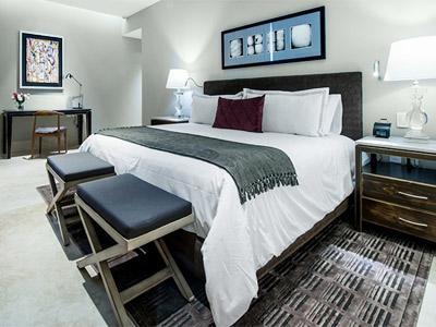 Habitación Master Suite del Hotel Square Small Luxury Hotel