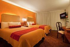 Habitación Estándar Camas Matrimoniales del Hotel Stanza Hotel