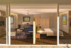 Habitación Terrace Junior del Hotel Stara Hamburgo