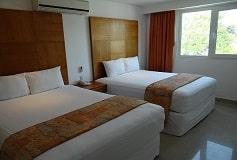 Habitación Superior 2 Camas del Hotel Suites Gaby Hotel