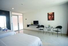 Habitación Suite Superior No Reembolsable del Hotel Sunrise 42 Suites Hotel