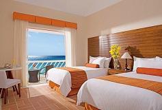 Habitación Deluxe Ocean View del Hotel Sunscape Sabor Cozumel