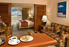 Habitación Junior Suite Vista Tropical del Hotel Sunscape Sabor Cozumel