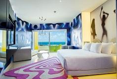 Habitación Bash Tower Ocean View del Hotel Hotel Temptation Cancún Resort