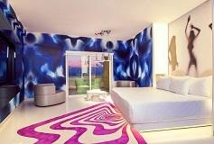 Habitación Lush Tower Ocean View del Hotel Hotel Temptation Cancún Resort