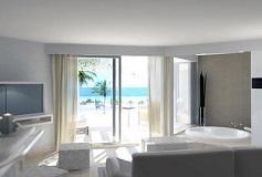 Habitación Junior Suite Vista al Mar del Hotel The Beloved Hotel Playa Mujeres Boutique All Inclusive