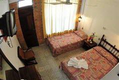 Habitación Estándar Doble con Balcón  del Hotel Hotel Tradicional Villa del Mar