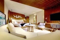 Habitación Junior Suite Swim Up del Hotel TRS Coral Hotel