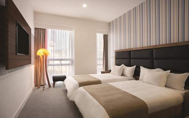 Habitación Estándar Twin del Hotel Hotel Tryp México WTC
