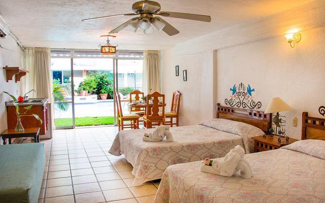 Habitación Estándar con Cocineta del Hotel Hotel Vallartasol