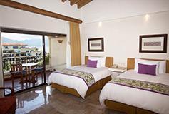 Habitación Suite Fam 3 Recámaras Vista Mar WiFi Niños Gratis del Hotel Velas Vallarta Family Beach Resort Premium All Inclusive