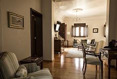 Habitación Junior Suite del Hotel Villa María Cristina