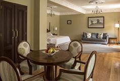Habitación Master Suite del Hotel Villa María Cristina