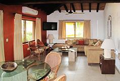 Habitación Villa de Dos Recámaras del Hotel Villas del Sol in Los Tules