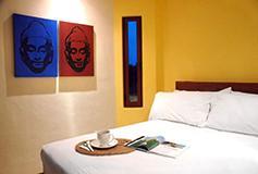 Habitación Una Recámara del Hotel Villas Sacbe Condo Hotel and Beach Club