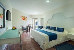 Habitación Suite Vista al Jardín del Hotel Hotel Viva Wyndham Maya