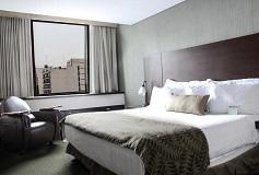 Habitación Estándar Una Cama del Hotel Hotel Wyndham Garden Polanco