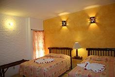 Habitación Estándar del Hotel ZihuaCaracol