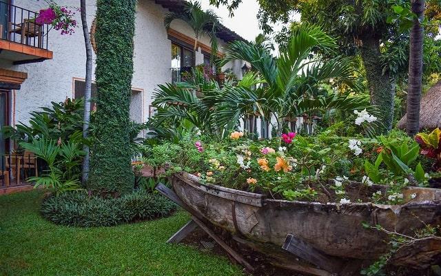 Hacienda Buenaventura Hotel and Mexican Charm, disfruta de sus jardines.