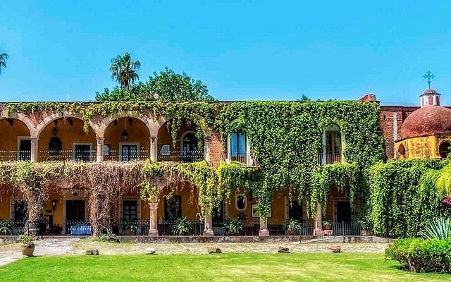 Hacienda El Carmen Hotel and Spa, arquitectura colonial