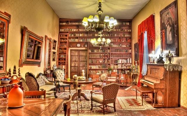 Hacienda El Carmen Hotel and Spa, biblioteca