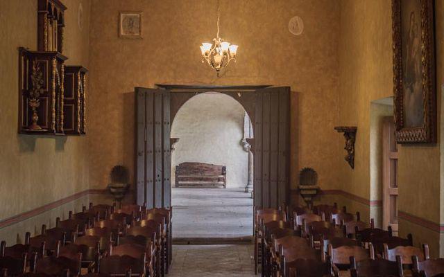 Cuenta con capilla privada, ideal para eventos